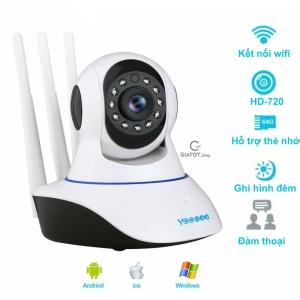 Camera wifi Yoosee chuẩn 3 râu HD-720P Model YYZ100SS - Hàng chính ...