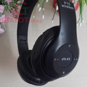 Tai Nghe Wireless HeadPhone P15 4.1